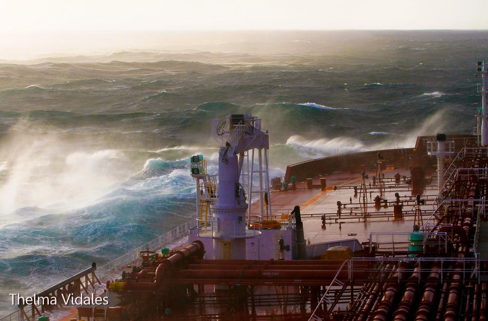 Viagem ao Chile, no Navio João Cândido.