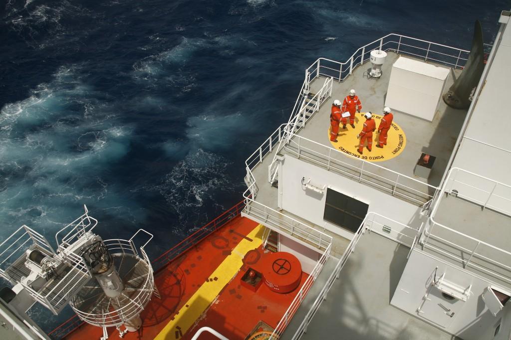 Treinamento à bordo