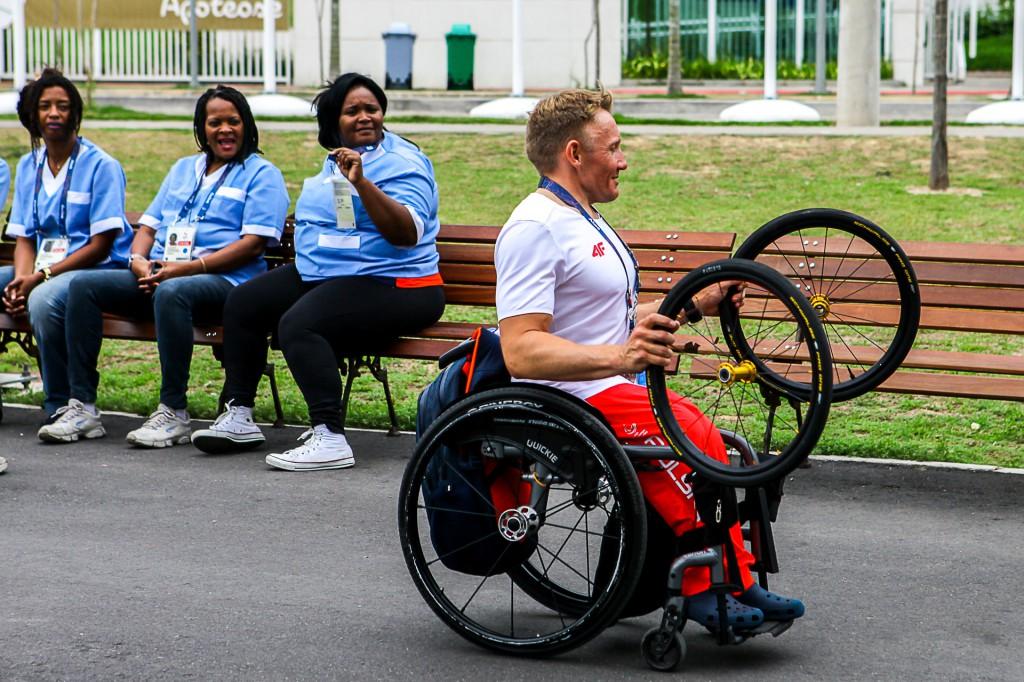 Wheelchair day life